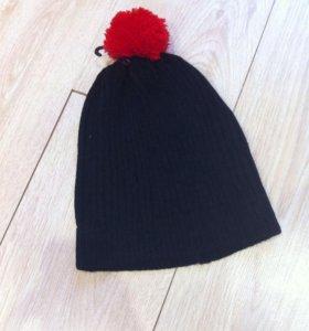 Новые шапки черная и серая