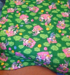 Детское одеяльце ватное