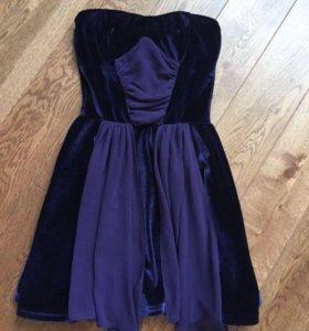 Платье надето   1 раз на Новый год