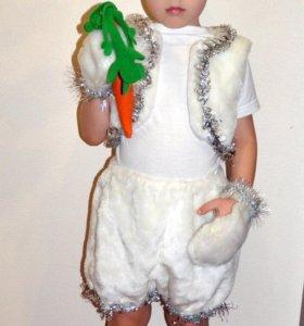 Прокат костюм зайчика