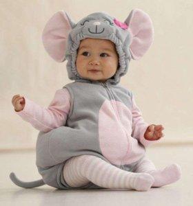 Прокат костюм мышки