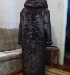 Женская шуба исскуственный мех размер 46-48