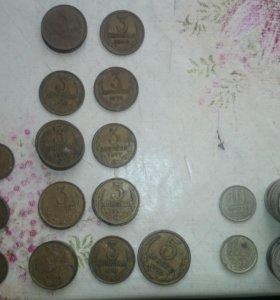 Монеты ССР (часть монет продано)