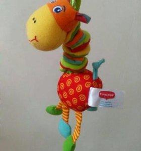 Игрушки-погремушки жираф