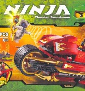 Новый конструктор ninjago мотоцикл кая