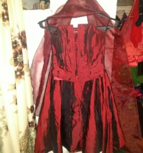 Корсет+юбка и шаль