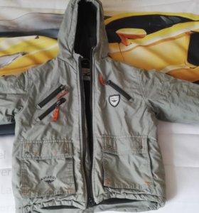 Куртка на мальчика 122