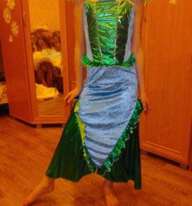Платье новогоднее, русалка