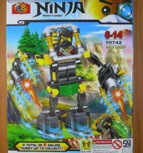 Новый конструктор ninjago робот коула