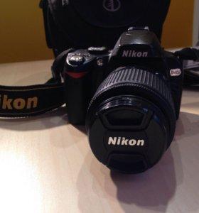Зеркальная камера Nikon d40x