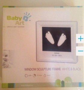 Baby Art Window Sculpture Frame рамка 3D слепки