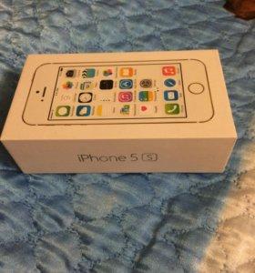 Продаётся коробка от айфона 5 s
