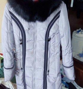 Пальто зимнее 44 (М)