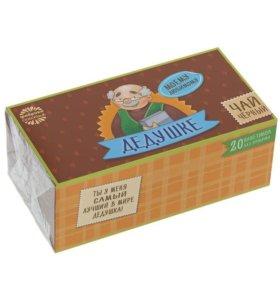 Чай чёрный подарочный, 20 пакетиков б/я