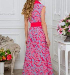 Новое шифоновое платье рр44,46,48