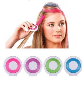 Новые мелки для волос (4 цвета)