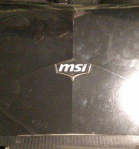 Ноутбук msi gx660 на запчасти