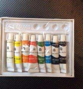 Набор акриловых красок 8 цветов по 6 гр