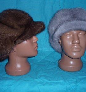Женская норковая шапка.