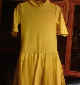 Платье для спортивных- бальных танцев ( 3-5 лет)