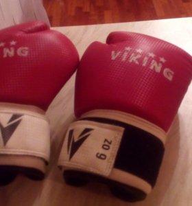 Боксерские  перчатки.  Детские . 6 oz