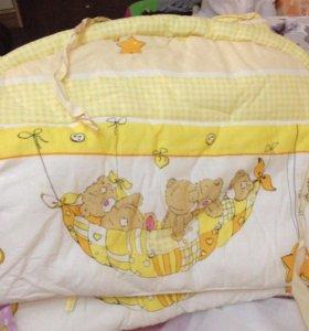 Борты для кроватки и балдахин