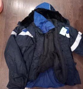 Костюм зимний - спецодежда (куртка и штаны)