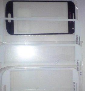 Samsung note2, s4 mini стёкла для переклейки