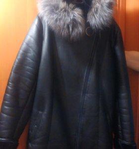 Куртка Зима 58-60,в отличном состоянии