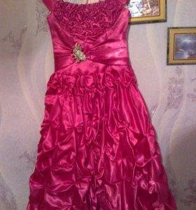 Бальное платье.