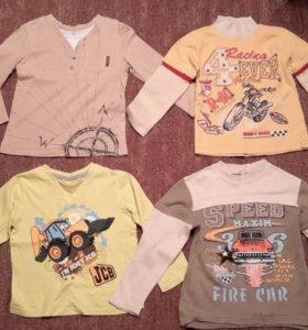 Кофты рубашка вещи на мальчика