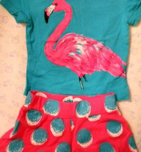 Комплект футболка и шорты Pelican