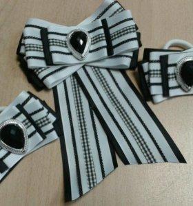 Резиночки и галстук