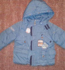 Куртка зимняя вещи на мальчика рост 92