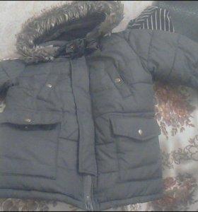 Зимняя теплая куртка на мальчика