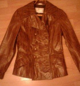 Пиджак нат кожа