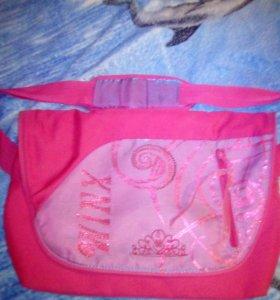 Школьная сумка через плечо