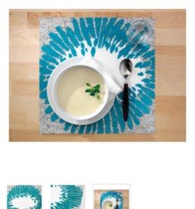 Подкладки под тарелки Икея