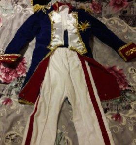 Продаю новогодний,детский костюм(Наполеон)