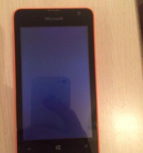 Смартфон Microsoft Lumia 430 Dual SIM (оранжевый)