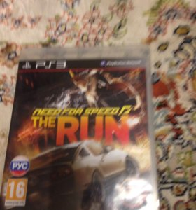 Диск  need for speed the run