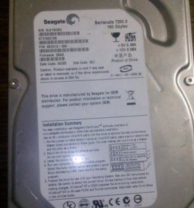 Жесткий диск HDD Seagate 160Gb IDE