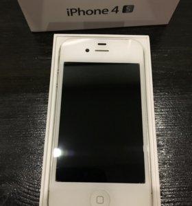 Айфон 4 s 16 GB белый (оригинал)-2 шт