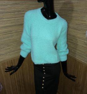 Кофта свитер из ангоры