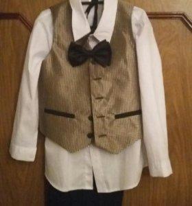 костюм четверка на мальчика 3-6лет