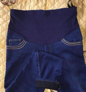 Утеплённые джинсы для беременных