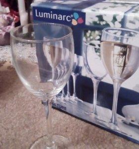 Фужеры Luminarс, 6 шт. x 190 ml