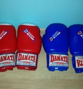 Боксерские перчатки DANATA STAR PROFESSIONAL,10 ун