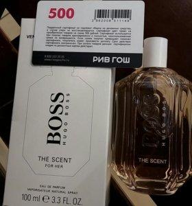 Hugo Boss the scent 100 ml тестер
