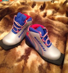 Детские ботинки для лыж Nordway